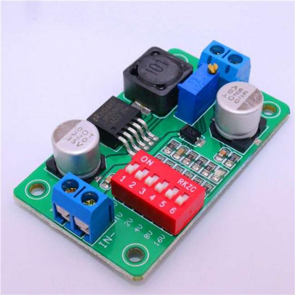 Modul de alimentare ajustabil pentru Arduino - Verde