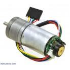 Motor 25Dx52L 1010 RPM cu encoder Pololu