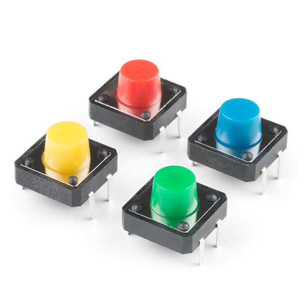 Set 4 butoane multicolore
