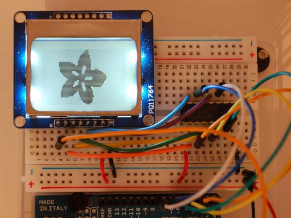 Nokia 5110 3310 monochrome LCD