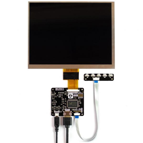 Pimoroni kit afisaj IPS LCD de 8, (1024x768) cu HDMI