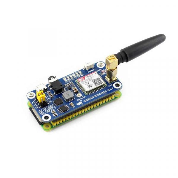 Placa dezvoltare pentru Raspberry Pi cu GSM, GPRS, GPS, Bluetooth