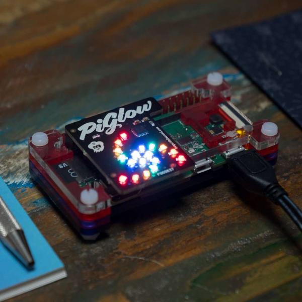 Placa LED-uri programabile PiGlow