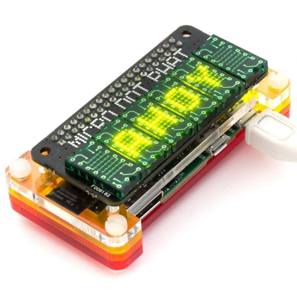 Placa Micro Dot pHAT Verde - Kit complet