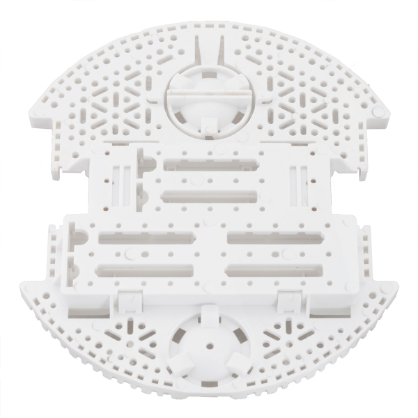 Placa de sustinere pentru sasiu Romi - Alb