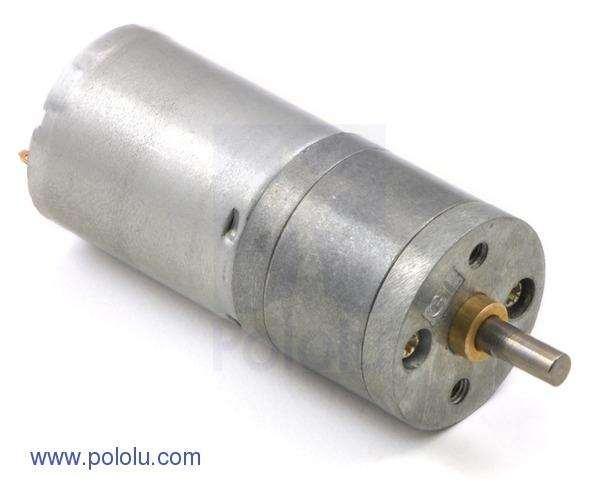 Motor metalic cu cutie de viteze 25Dx52L mm 75:1 HP