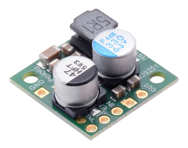 Regulator 3.3V, 2.6A Step-Down D24V22F3