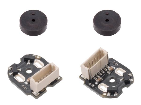Encoder Pololu , conector superior, 12CPR, 2.7 - 18V