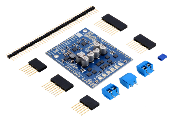 Pololu Dual G2 High-Power Motor Driver 24v14 Shield pentru Arduino