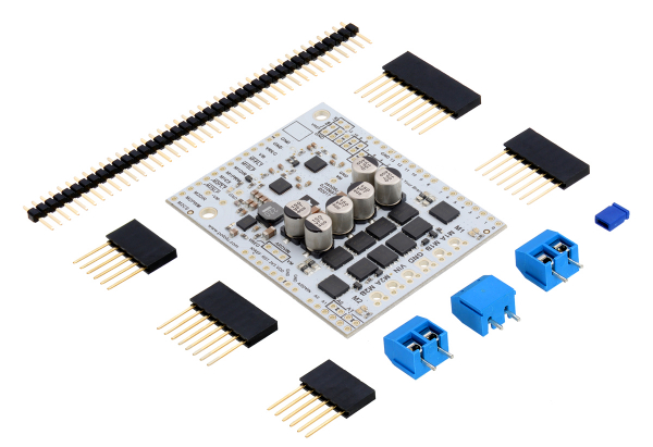 Pololu Dual G2 High-Power Motor Driver 24v18 Shield pentru Arduino