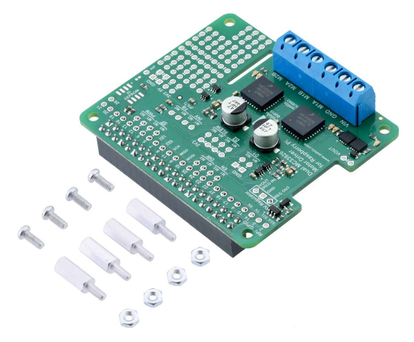 MC33926 Dual Motor Driver pentru Raspberry Pi