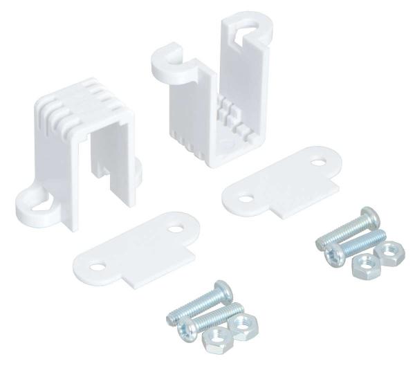 Mini Plastic Gearmotor Bracket Pair - Tall