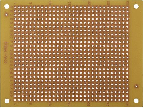 Placa PCB cu o Singura Fata Tip Prototipare 94 mm X 71 mm