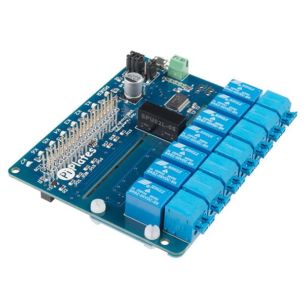 RELAYplate - placa cu 7 relee Raspberry Pi