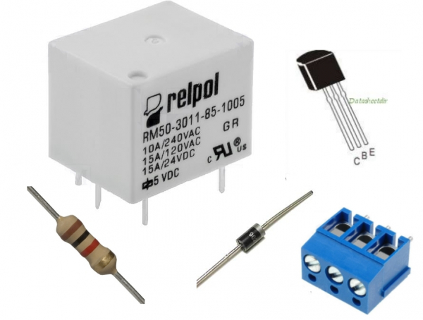 Kit Releu DIY