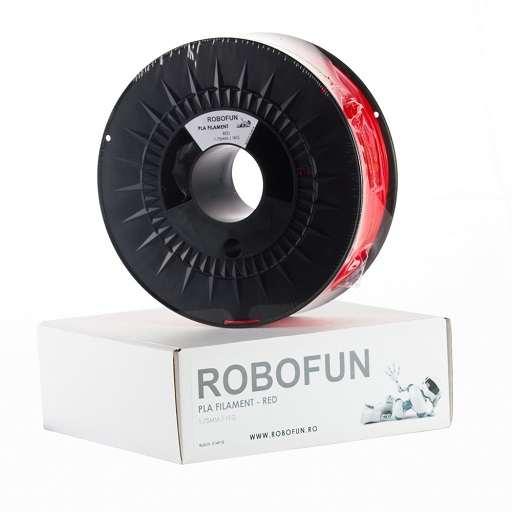 Filament Premium Robofun PLA 1KG 1.75 mm - Rosu
