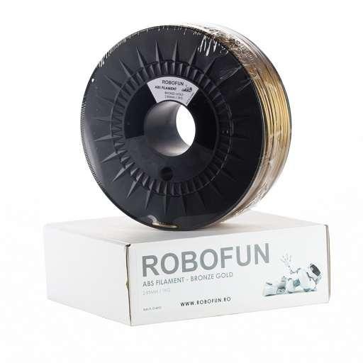Filament Premium Robofun ABS 1KG 3 mm - Bronze Gold