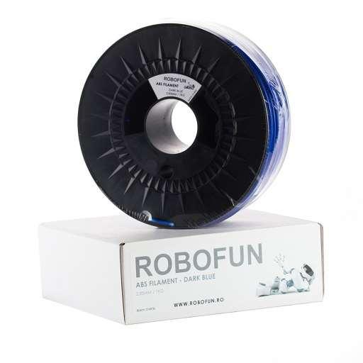 Filament Premium Robofun ABS 1KG 3 mm - Albastru inchis