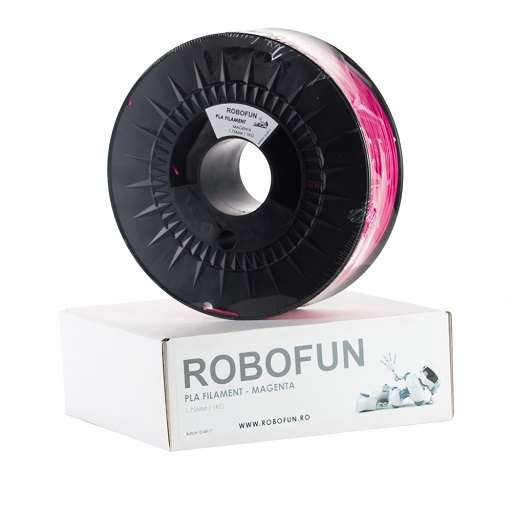Filament Premium Robofun PLA 1KG 1.75 mm - Magenta