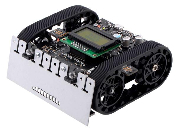 Robot Zumo 32U4 (asamblat cu motoare de 100:1 HP)