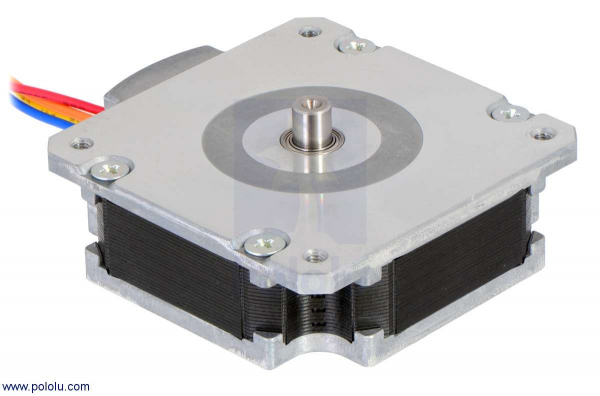 Sanyo Pancake Stepper Motor: Bipolar, 200 Steps Rev, 50 16mm, 5.9V, 1 A Phase