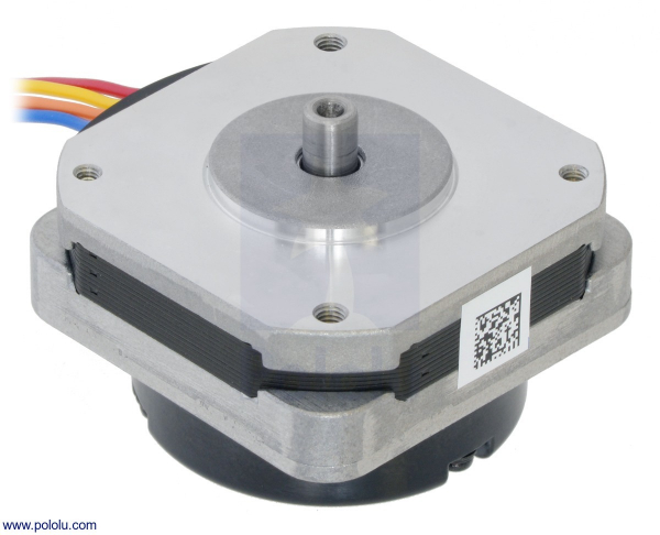 Sanyo Pancake Stepper Motor cu Encoder: Bipolar, 200 Steps Rev, 42 24.5mm, 3.5V, 1 A Faza, 4000 CPR