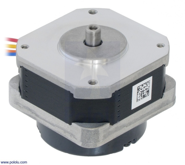 Sanyo Pancake Stepper Motor cu Encoder: Bipolar, 200 Steps Rev, 42 31.5mm, 5.4V, 1 A Faza, 4000 CPR