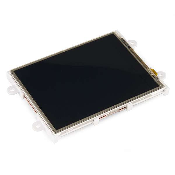 Serial TFT LCD - 3.2 with Touchscreen (uLCD-32PTU-GFX)