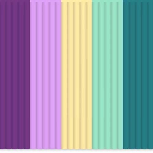 Set filamente PLA 3Doodler - multicolor MIX17 Provence Palette