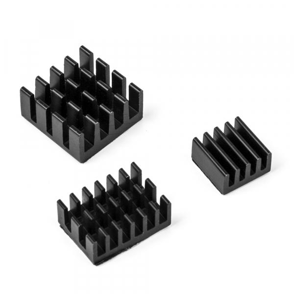 Set radiatoare aluminiu pentru Raspberry Pi 4 B