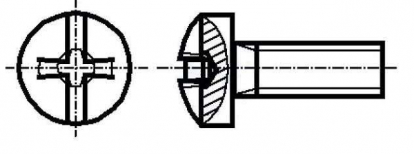 Set surub otel 3 mm (M3) X 10 mm (10 bucati)