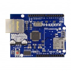 Shield Ethernet pentru Arduino cu chip Wiznet W5100