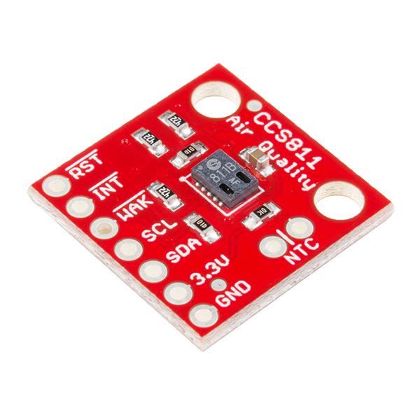 Senzor pentru masurarea calitatii aerului - CCS811 (eCO2 TVOC)