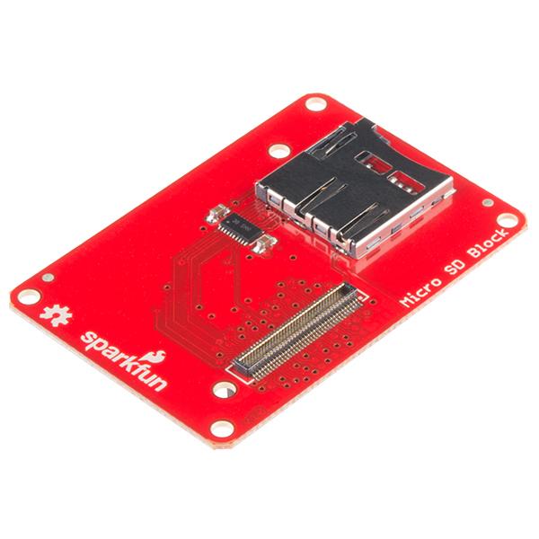 Block for Intel Edison - microSD