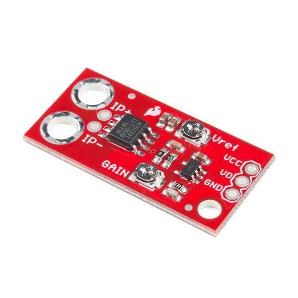 Breakout senzor de curent AC DC SparkFun ACS723 (curenti mici)