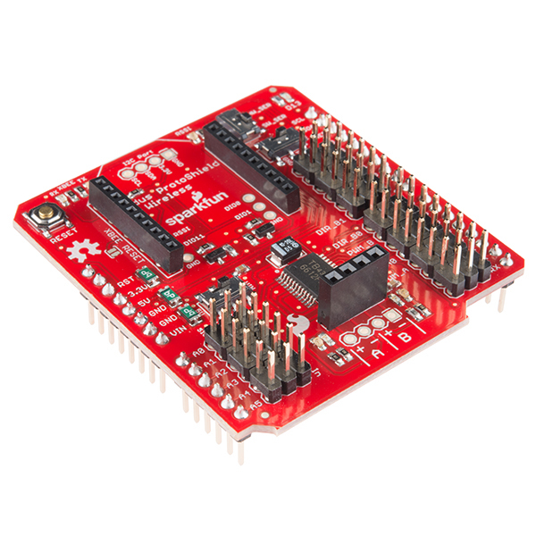 Ludus Protoshield Motor Driver Wireless