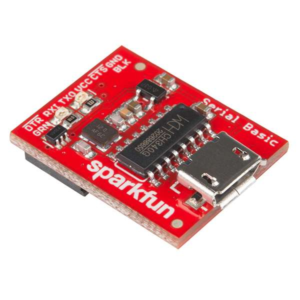 USB Serial Basic Breakout - CH340G
