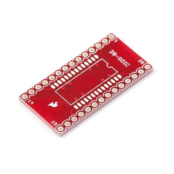 Circuit adaptor SOIC la DIP - 28 Pini