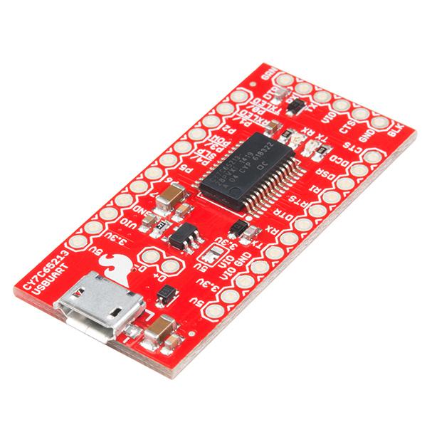 USB UART Serial Breakout - CY7C65213