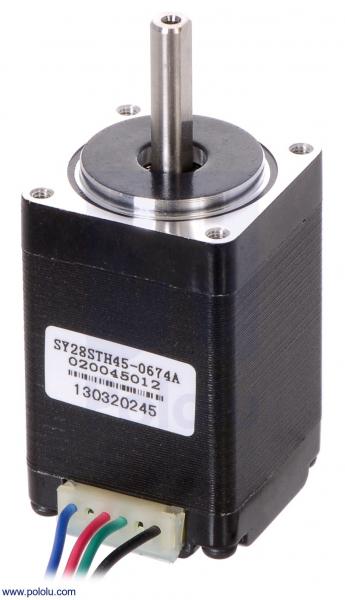 Motor stepper bipolar, 200 pasi, 4.5V, 0.67 A faza