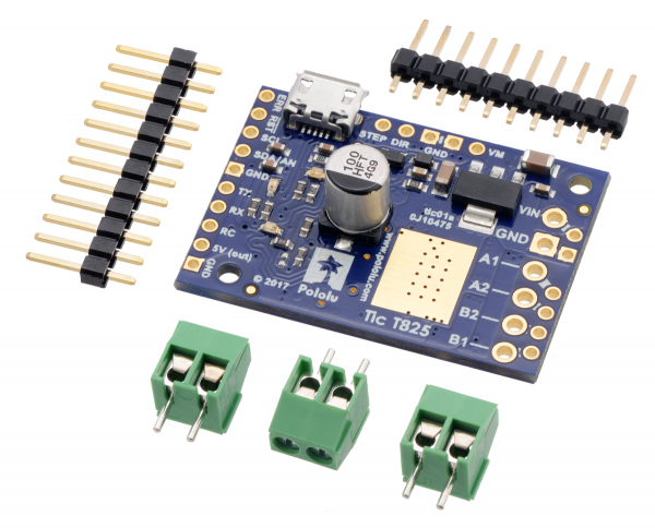 Tic T825 USB Multi-Interface Stepper Motor Controller