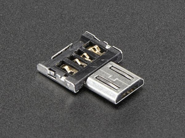 Adaptor Tiny OTG - USB Micro la USB