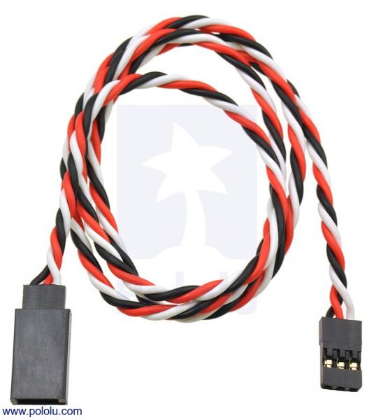 Cablu Prelungire Servo 60cm