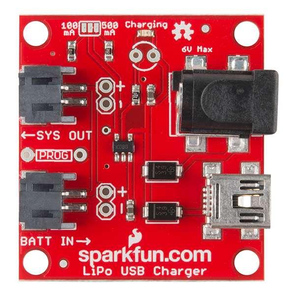 USB Incarcator LiPo - 1 Celula