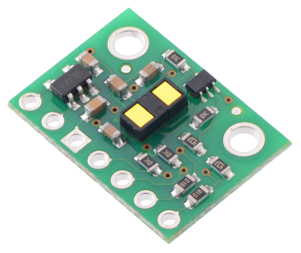 Senzor de distanta VL53L1X ToF si regulator de tensiune, max 4m