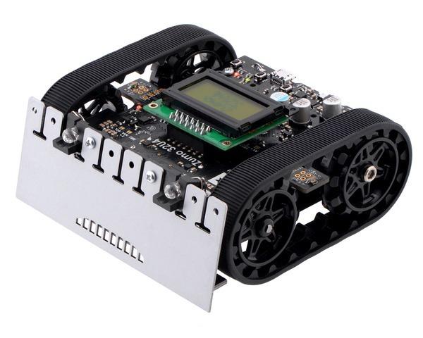 Robot Zumo 32U4 (Asamblat cu Motoare 50:1 HP)